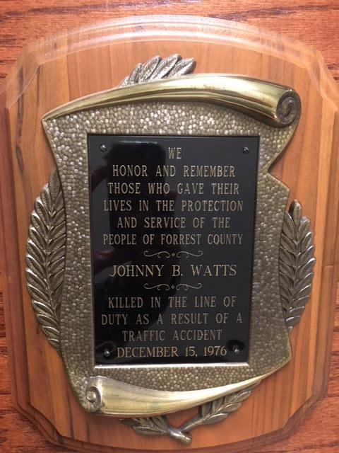 Officer Memorial - Mississippi Sheriffs' Association